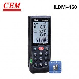 华盛昌((CEM)) iLDM-150 70米 云服务激光测距仪(云测量)