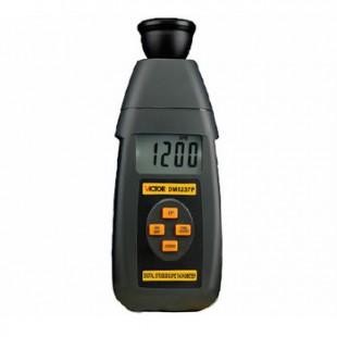 数字频闪仪DM6237P 数字式闪频测速仪转速表 胜利仪器